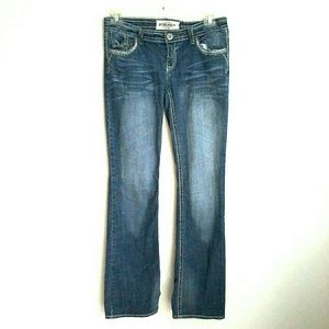 NYC hydraulic denim jeans
